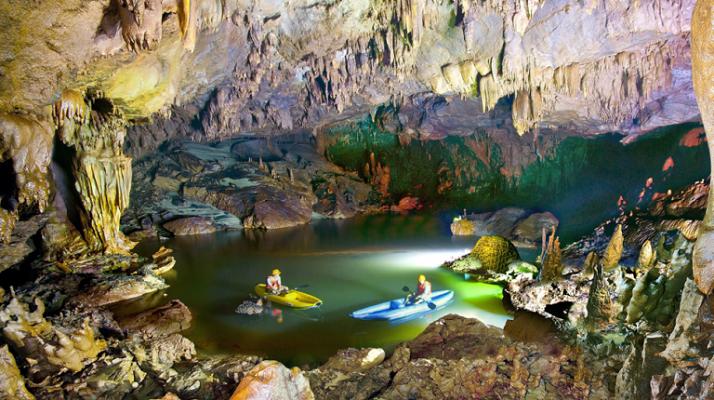 Động Phong Nha là một điểm đến không thể bỏ lỡ khi du lịch Quảng Bình