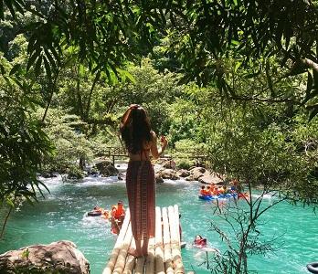 Suối Nước Moọc điểm đến lý tưởng để nghỉ ngơi thư giản
